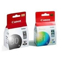 Kit 02 Cartucho Canom Pg 30 Cl 3 190/mp140/ip1800/mp160 Novo