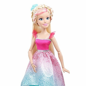 Barbie Princesa 43cms Peinados Magicos Mi Gran Mattel Grande