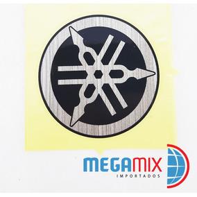 Adesivo Yamaha Original Emblema 5x5 Cm-frete Fixo 8,00