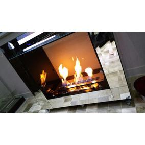 Queimador Lareira Ecologica Regulagem De Chama 50cm Kfire