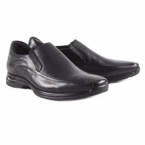 Sapato Social Democrata Air Stretch Spot - Masculino - Preto