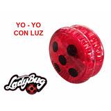 Yo-yo Yoyo Ladybug Con Luz Excelente $ 2990