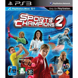 Sports Champions 2 Ps3 Digital Nuevo Original Entrega Inmed