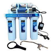 Filtro Agua 5 Etapas Germicida Uv Con T33 Carbón Coco
