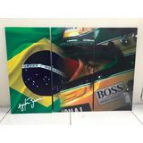 Ayrton Senna Quadros - Do Brasil - Bandeira