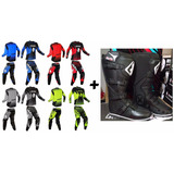 Kit Ims Conjunto Start + Bota Ims Pro Trilha Motocross