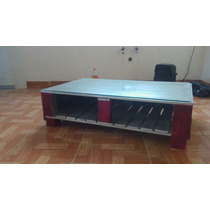 Mesa De Centro O Para Tv. Madera Reciclada De Palet/tarima