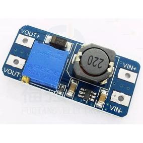 Módulo Dc Step-up Conversor Arduino Regulador Mt3608 Pic