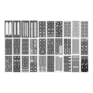 Stencil Adesivo Decoração Unhas Airbrush Nails - Aerografo