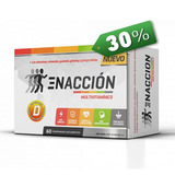 Enaccion Multivitaminico 60 Caps Ena 30off Vitaminas