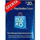 Tarjeta Gift Card Playstation 20 Dolares Usd Mx