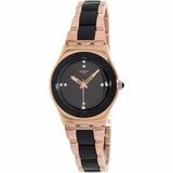 Reloj Swatch Dama Ylg123g Rose Pearl Black Ag. Oficial