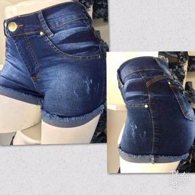 Shorts Jeans No Atacado 3 Peças Por R$ 120,00