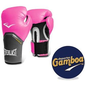 Guantes De Box Everlast Pro Style Elite Rosa 8oz