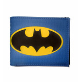 Billetera Tpu Alto Relieve Batman Logo Dc Comics