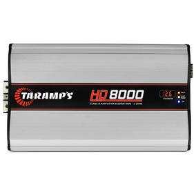 Modulo Hd8000 8000w Rms 1 Canal 1 Ohm Amplificador Som Carro