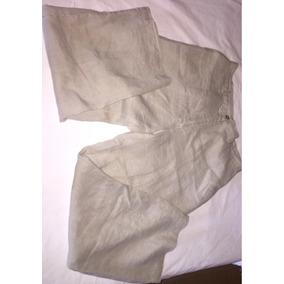 Pantalón De Lino Talla 28