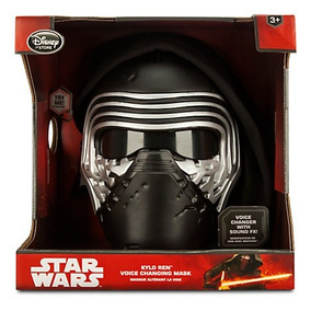 Star Wars Kylo Ren Mascara Electronica Disney Store Nuevo