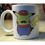 Taza Pokemon Pikachu Mariobross