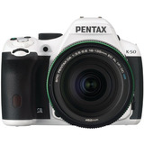 Pentax K-50 16mp Digital Slr Camera Kit With Da 18-135mm Wr