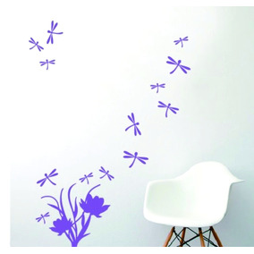 plancha libelula vinilo decorativo diseo decoracion
