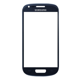 Tela Vidro S3 Mini Azul Samsung Galaxy I8190 Lente Sem Touch
