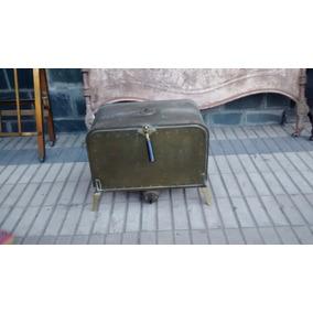 Esterilizador Antiguo De Cobre Remachado