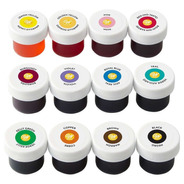 Set X 12 Colorantes En Gel Wilton Colores Surtidos