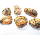 Gema Granito Polida Laranja 3cm Pedra P/coleção
