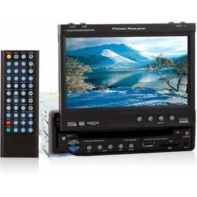 Reproductor Dvd Power Acoustik Pantalla 7 Pulgad Ptid8940nr
