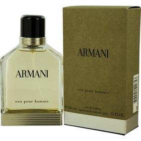 Perfume Armani Pour Homme 100ml Edt Masculino - Original