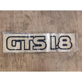 Adesivo Gol Gts 1.8 Tampa Da Mala Preto