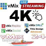 Vmix 4k Oficial Em 12 X  - Streaming E Live