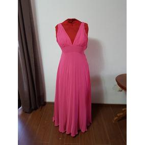 Vestido Largo De Noche Color Rosa