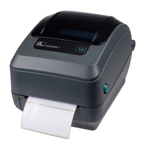 Impresora De Etiquetas De Códigos De Barra Zebra Gk420t. Lps