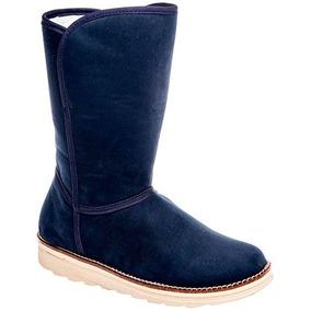 746eb0b2611 Botas Modernas Y Sexys Para Mujer U10101009 - Zapatos Azul marino en ...