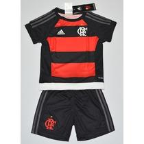 Conjunto Do Flamengo Infantil Kit Adidas Bebe Original