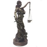 Veronese Imagem Deusa Dama Da Justiça Têmis Themis 63cm