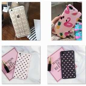 Fundas Iphone 6s 7s Plus Glitter Candy Corazon Varios Modelo