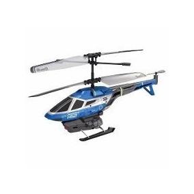 Helicóptero De Controle Remoto - Heli Splash Azul Dtc 3214
