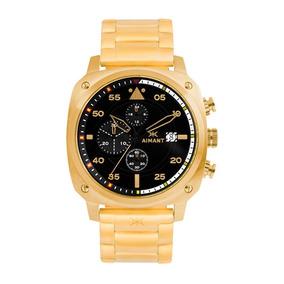 Relógio De Pulso Aimant De Ouro Dakar - Gda-230sg-1g