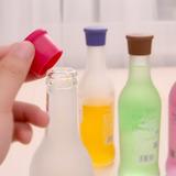 10 Pcs Color Caramelo Silicona Condimento Entrega Botella