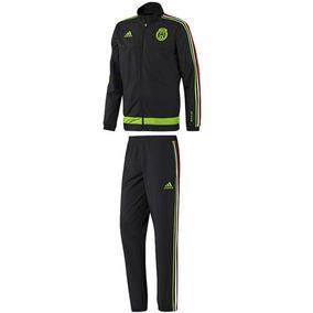 Conjunto Pants Con Sudadera Mexico Hombre adidas S19192