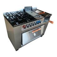 Cocina Industrial Tecnocalor 4h + Plancha Freidora Carlitero