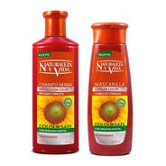 Kit Naturaleza Y Vida Cobrizo Shampoo + - mL a $80