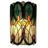 Amora Lighting Am247wl10 Tiffany Style Aplique De Pared...