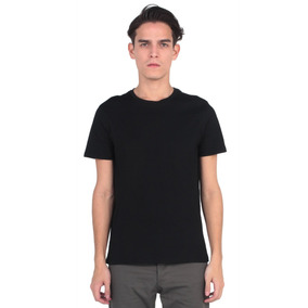 Camiseta Manga Corta De Negro Vestimenta Vw171-2103-760
