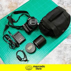 Camara Panasonic Lumix Fz60+bolso+lente Macro (adaptable)