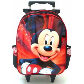 Mochila Mickey Mouse Rodinhas Tam G Infantil Meninos Boleto