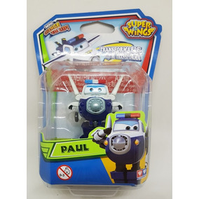 Super Wings Mini - Original - Na Caixa - Valor Unitário Paul